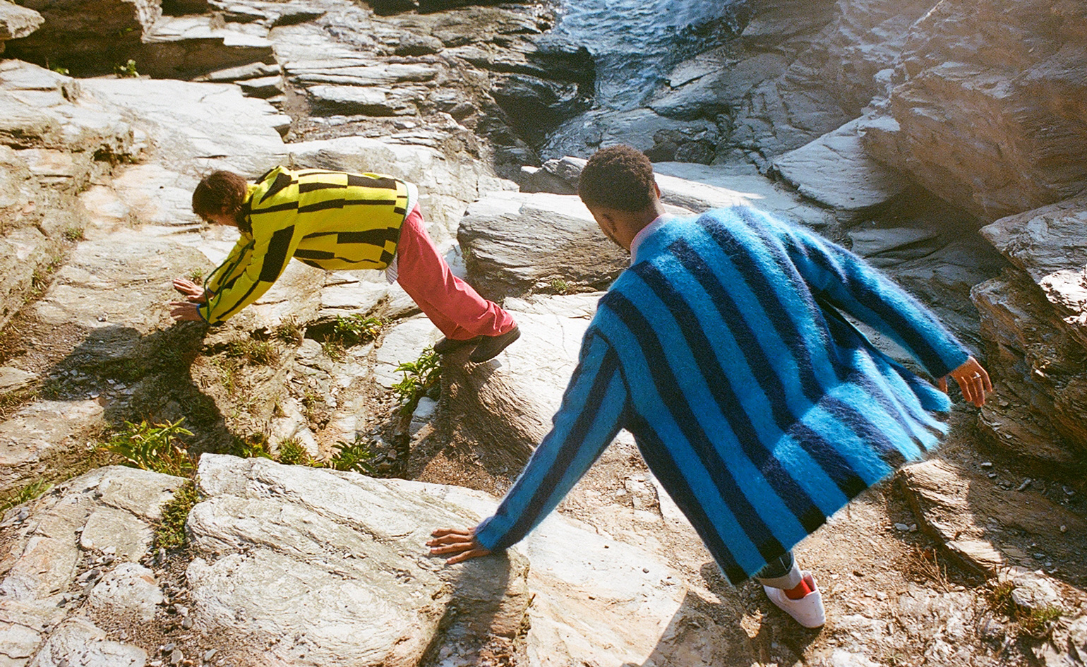 """""""colourful knitted jumpers by Zankov"""""""