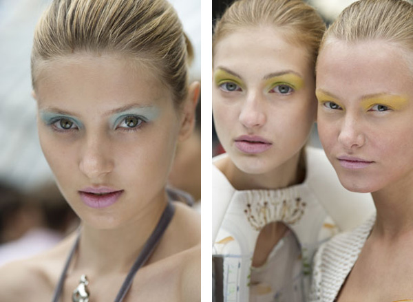 Fashion Week Womenswear S/S 2011: Grooming Trends