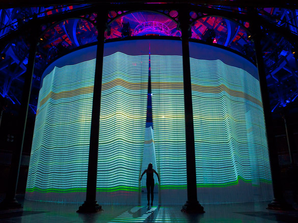 Curtain Call By Ron Arad At The Roundhouse London Art