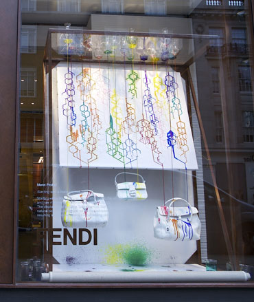 See More RCA students take over Fendi's new London store. Tweet this