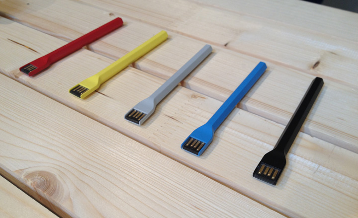 Memory sticks by Big-Game at SaloneSatellite