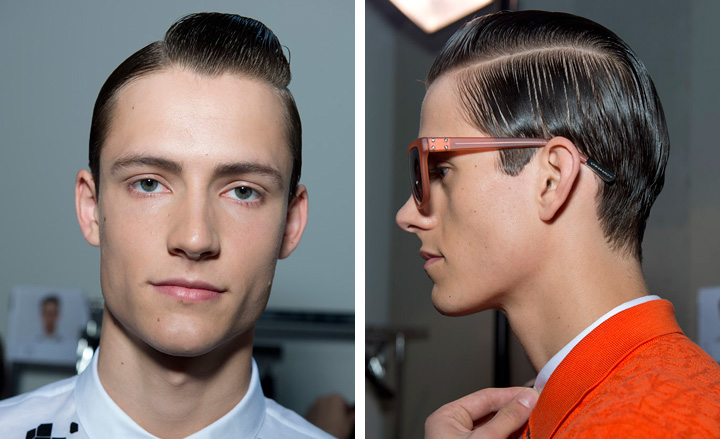 fifties hair styles grooming trends s fashion week s s 2014 6633