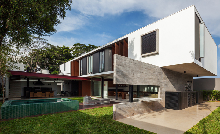 Interactive Floor Plan Planalto House By Fl Vio Castro