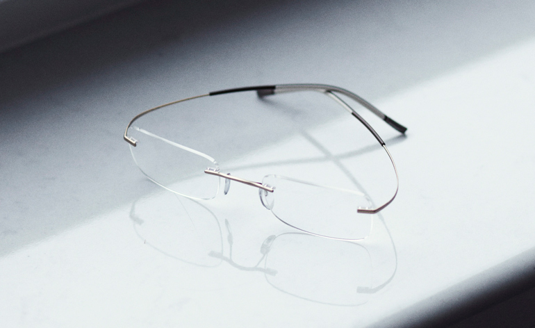 Japanese Frameless Glasses : In pursuit of the ultimate eyewear with designer Eisuke ...