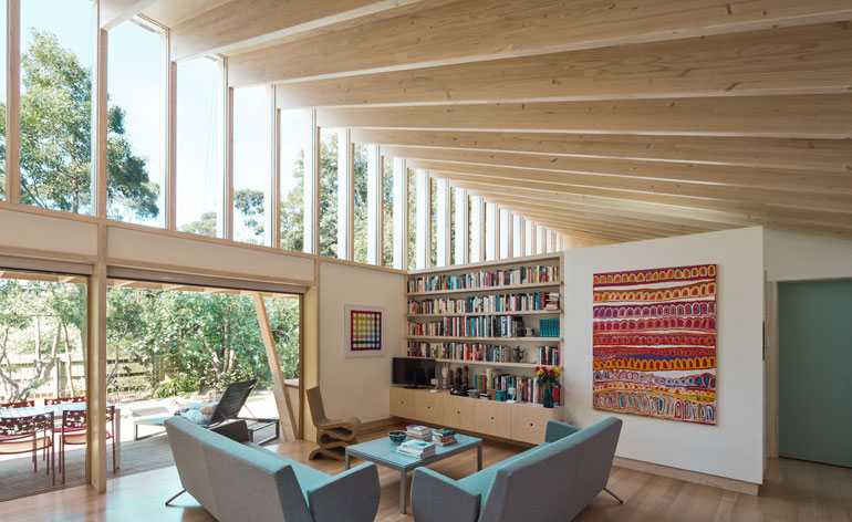 see more of somers beach house - Beach House Design 1950s