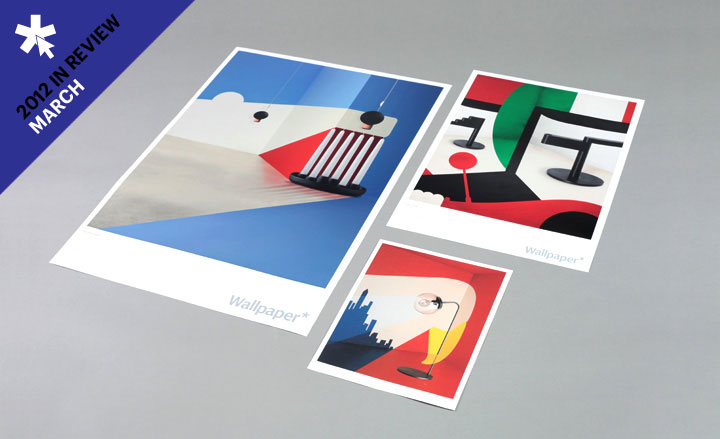 Poster versions of the covers created by Noma Bar for our Global Interiors special