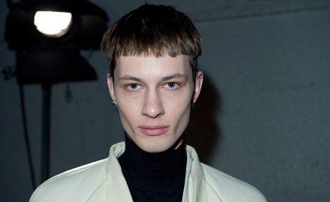 Paris Men's Fashion Week A/W 2013: Grooming trends