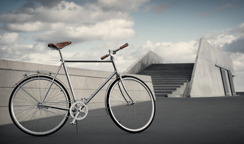 Georg Jensen's first bicycle design