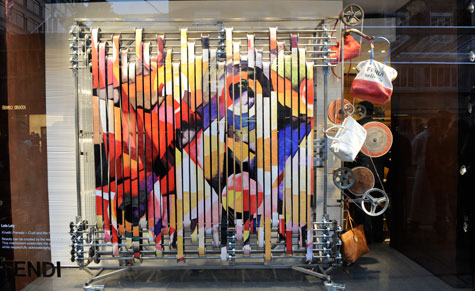 RCA students take over Fendi's new London store