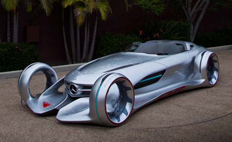The new Mercedes Silver Arrow, designed by Hubert Lee for the 2011 LA Design Challenge