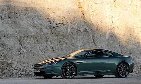 Aston Martin's DBS has finally broken cover. Familiar the world over as