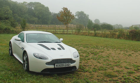 The explosive automotive stylings of Aston Martin's V12 Vantage