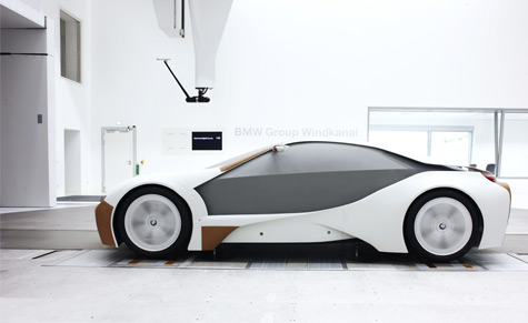BMW's Vision EfficientDynamics concept previewed much of the material technology that is used in the proposed Megacity Vehicle