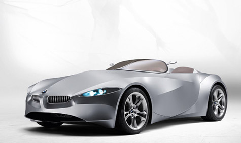 The 2008 BMW GINA proposes a car exterior made out of a flexible Lycra 'skin' stretched over a motorised metal frame.