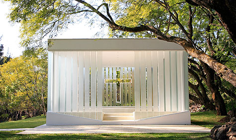 Wedding Chapel by Bunker Arquitectura Image Megs Inniss