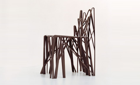 'Solid C2' chair by Patrick Jouin for .MGX by Materialise, 2004