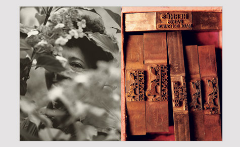 From left to right: A photograph from the 'Gardens' and 'Specialities' volumes of Koto Bolofo's La Maison