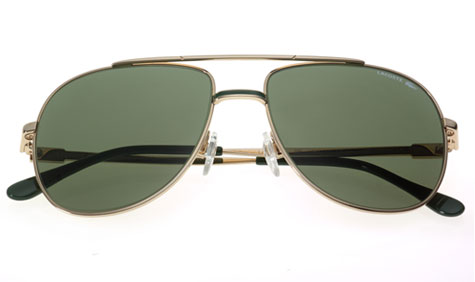 Christophe Pillet has reissued Lacoste's original 101 sunglasses